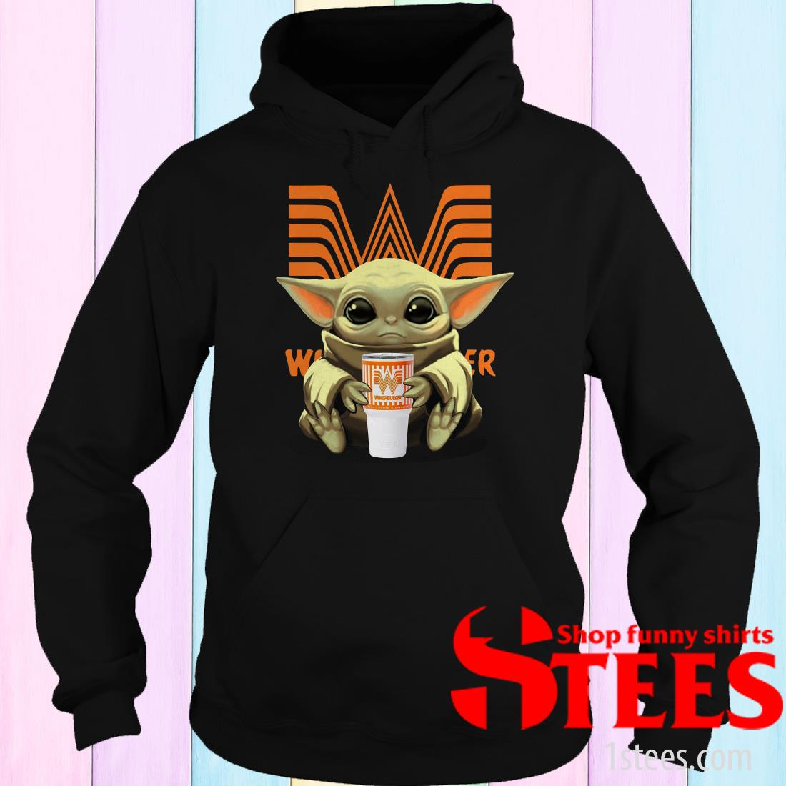 Baby Yoda Whataburger Shirt