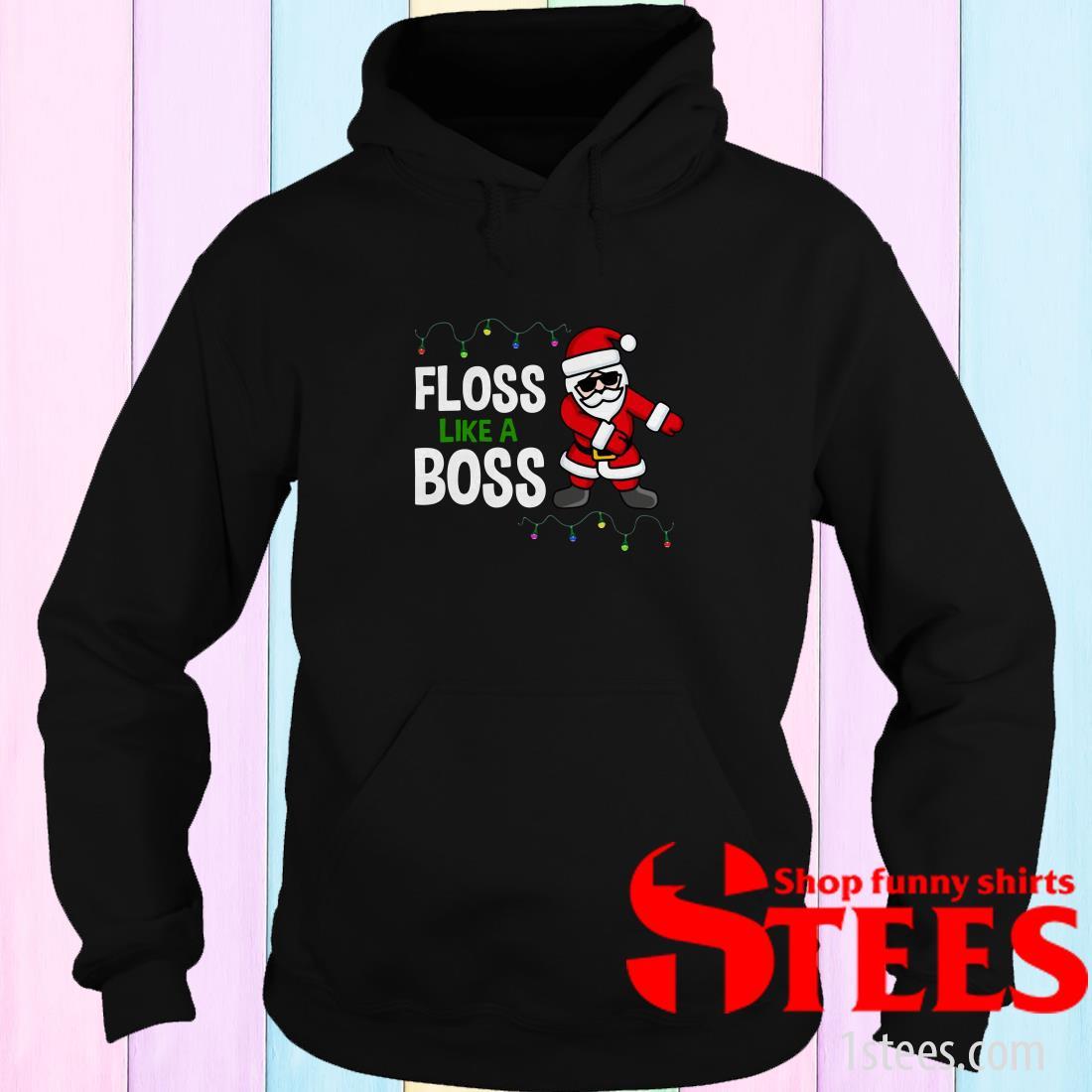 Santa Floss Like A Boss Christmas Sweatshirt