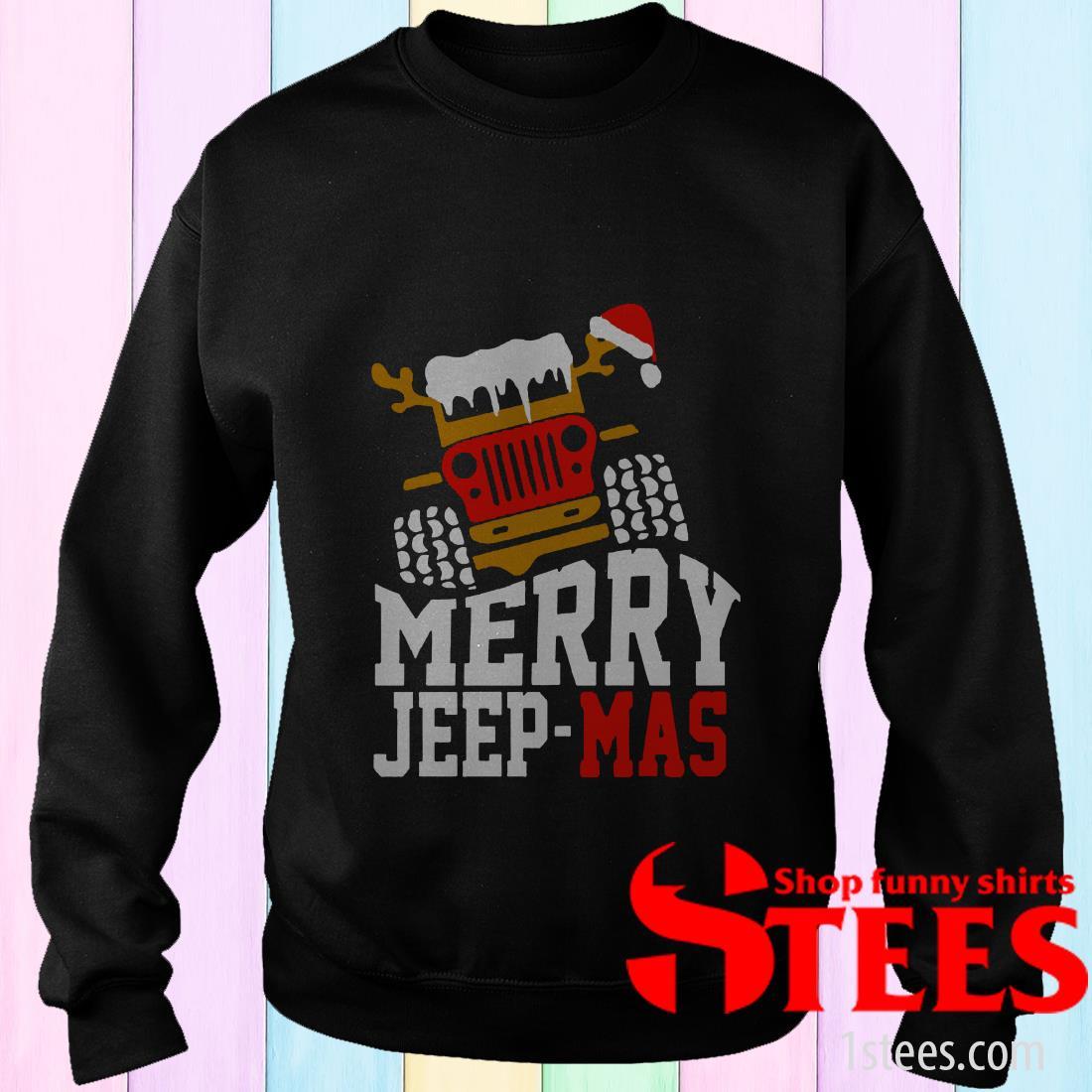 Merry Jeep Mas Sweatshirt