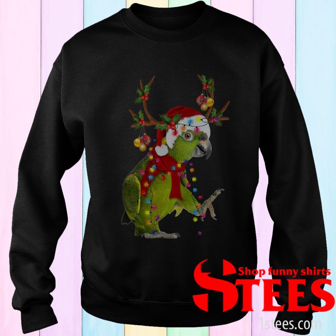 Parrot Gorgeous Reindeer Crewneck Sweatshirt