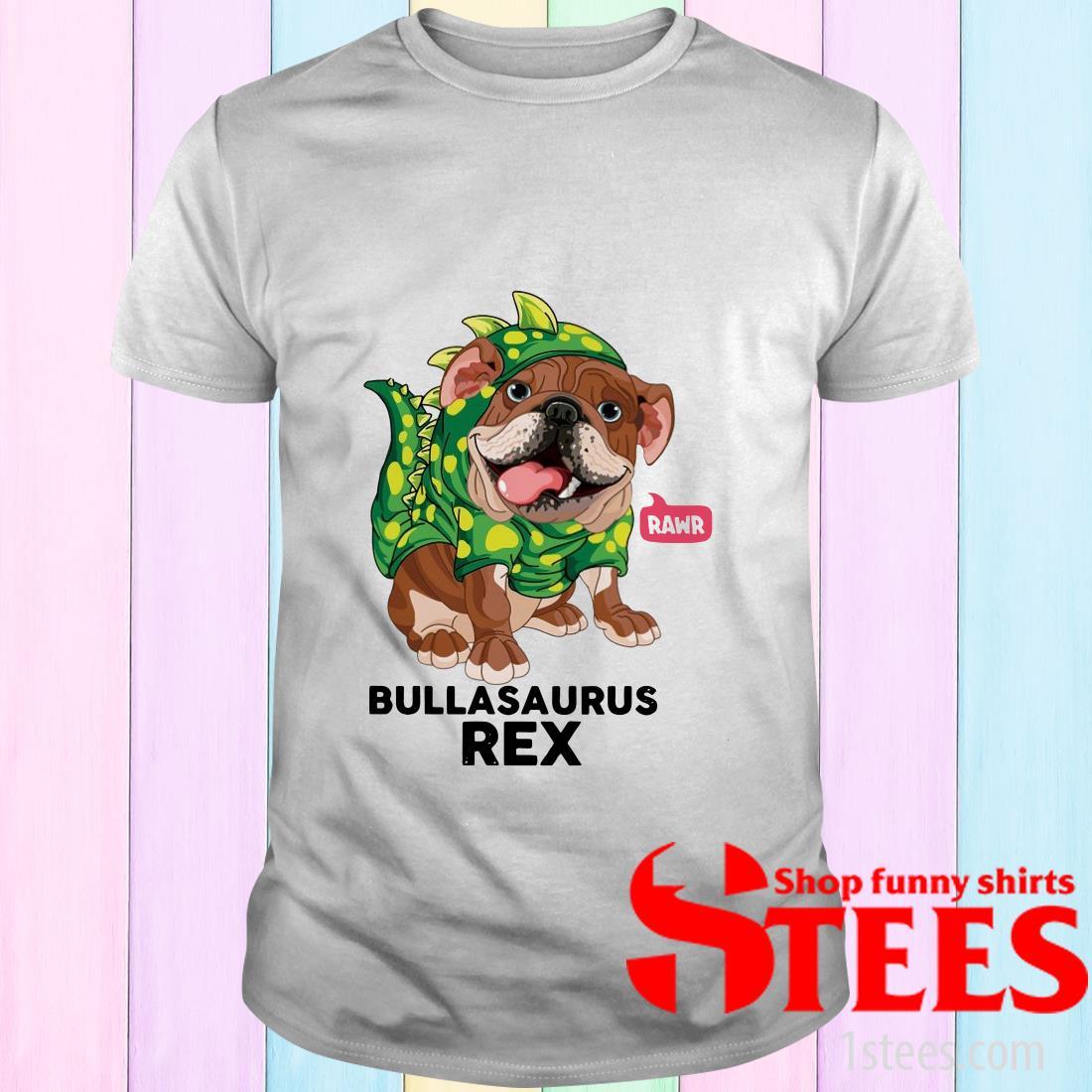 Bulldog Dino Pawr Crewneck Shirt
