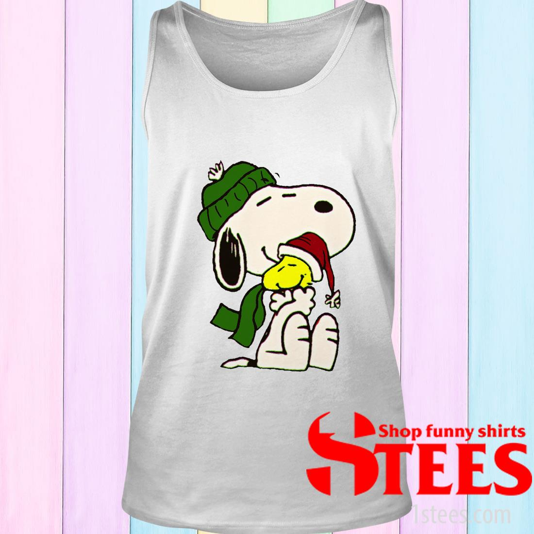 Snoopy And Woodstock Christmas Sweatshirt