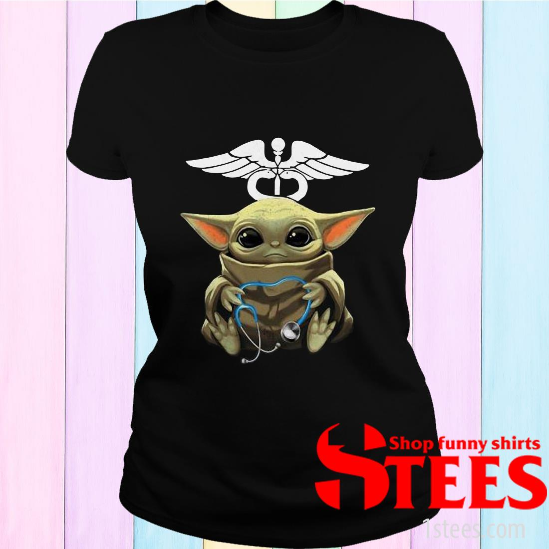 Baby Yoda Hug Nurse Shirt