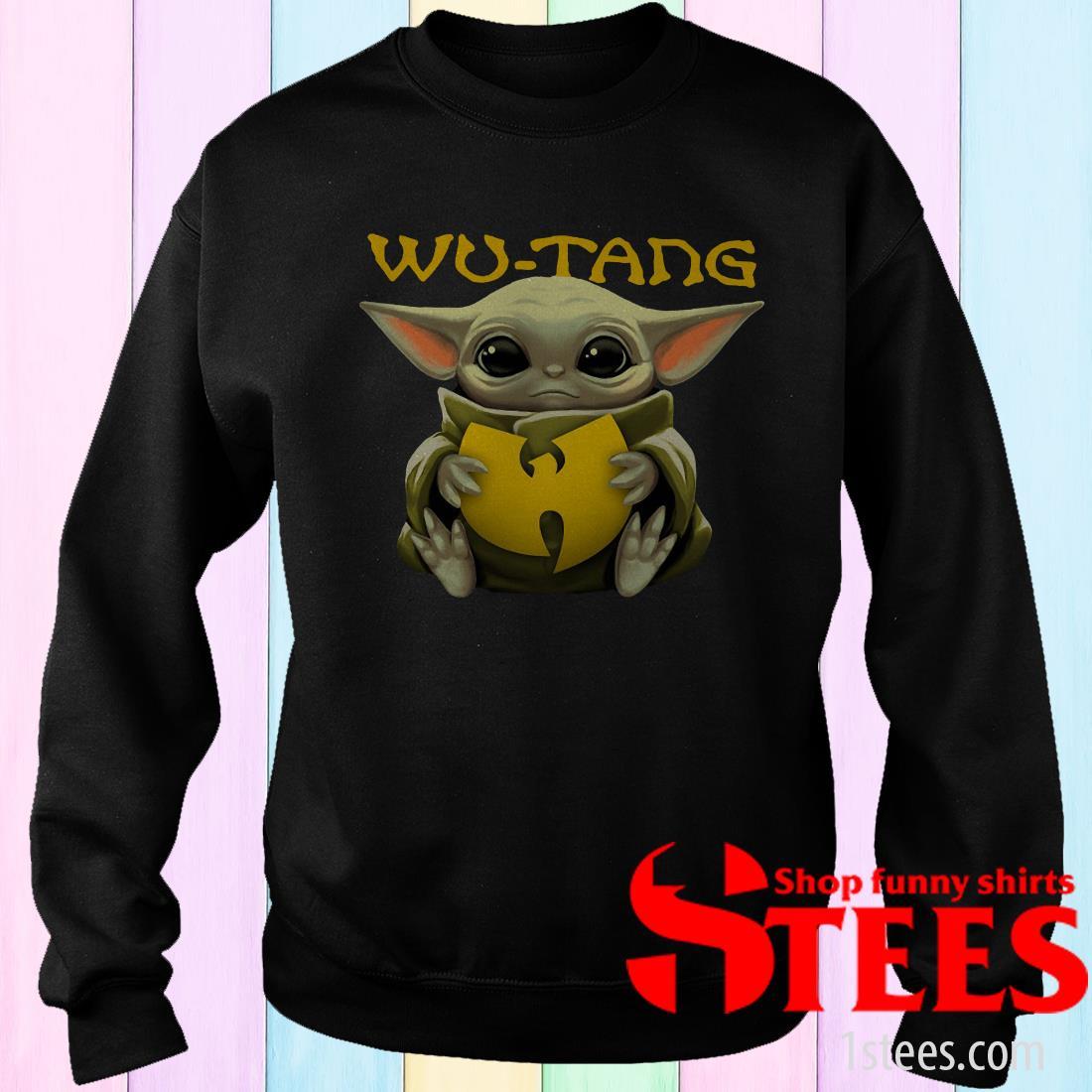 Star Wars Baby Yoda Hug Wu-Tang Shirt