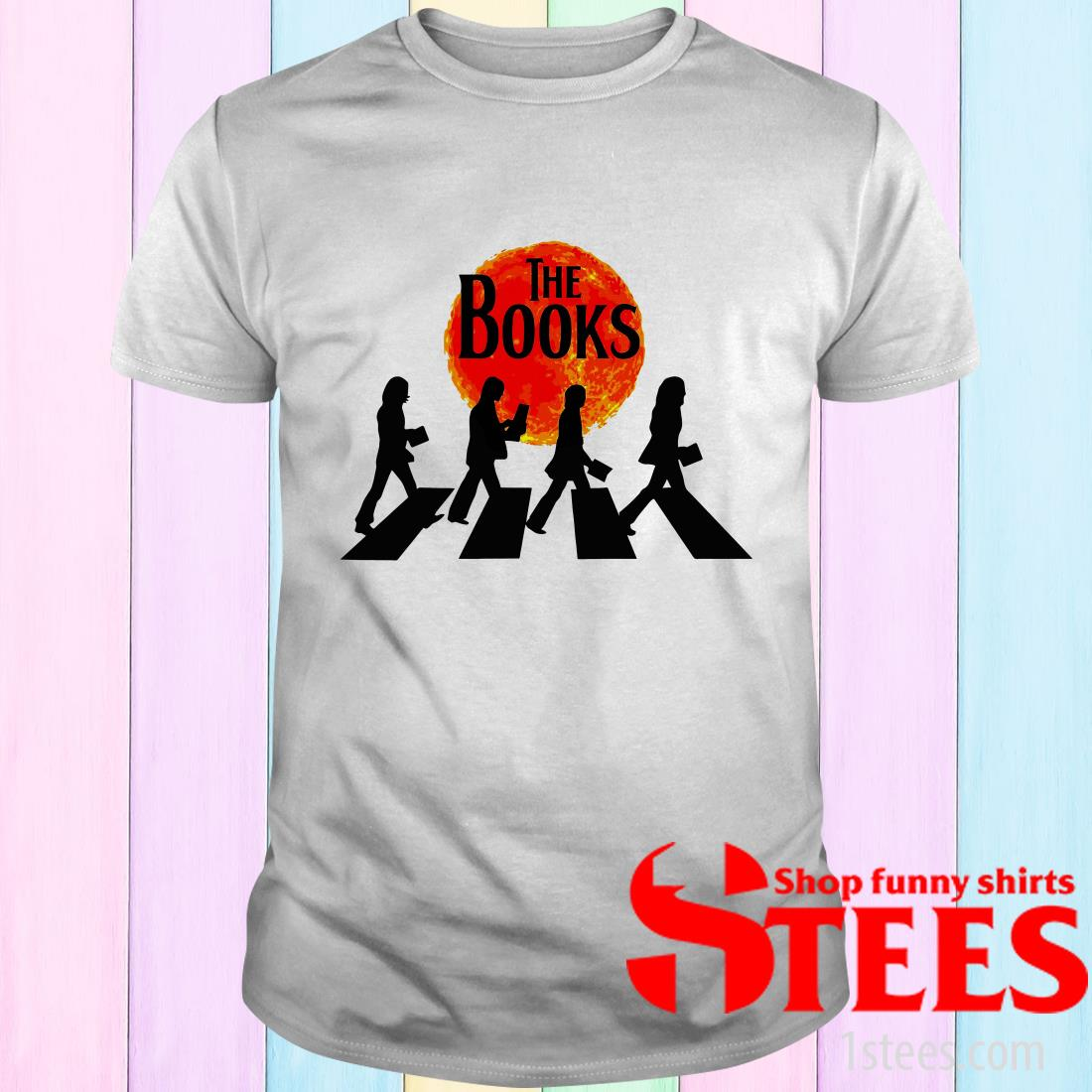Abbey Road The Books T-Shirt
