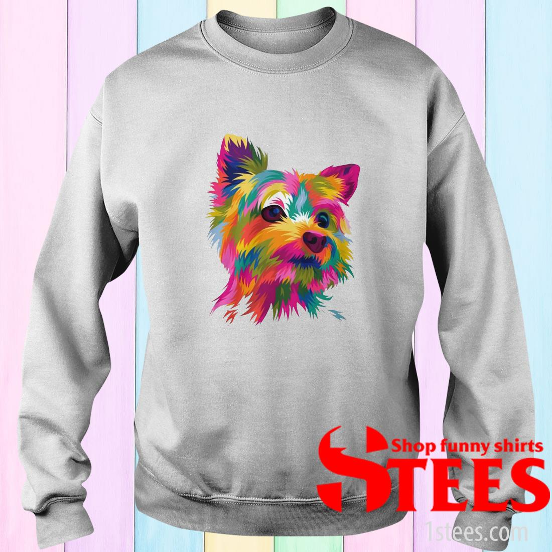 Draw your pets into amazing funny pop art vector Sweatshirt