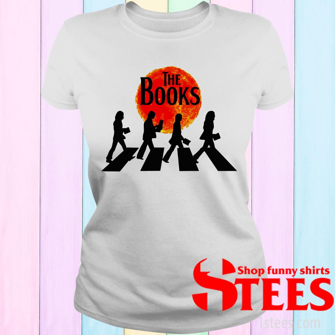 Abbey Road The Books Women's T-Shirt