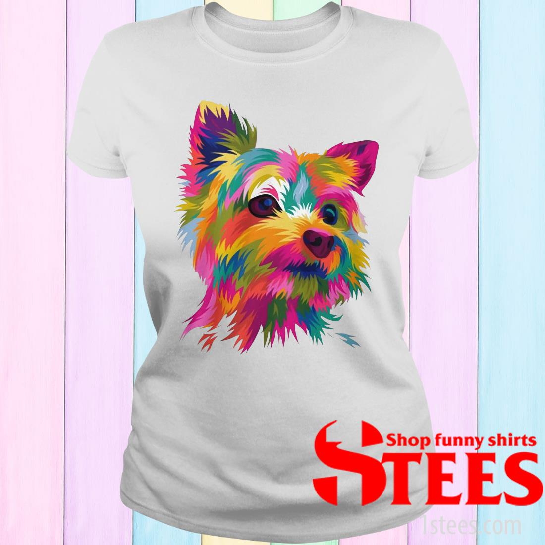 Draw your pets into amazing funny pop art vector Women T-Shirt
