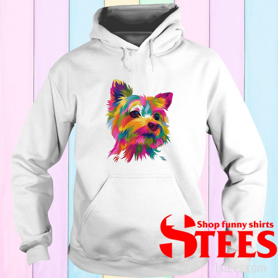 Draw your pets into amazing funny pop art vector Hoodie