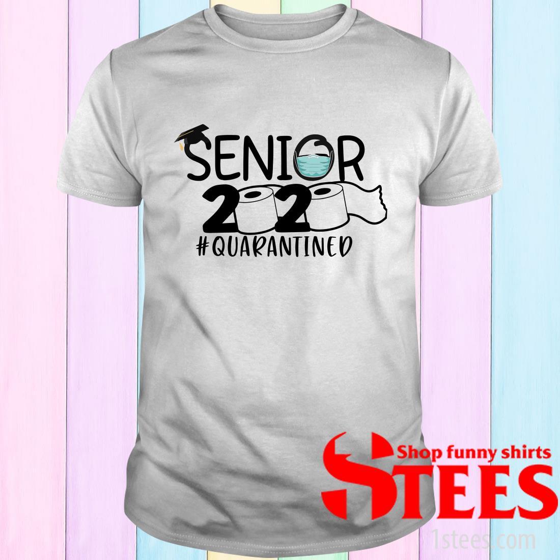 Toilet Paper Senior 2020 Quarantined T-Shirt