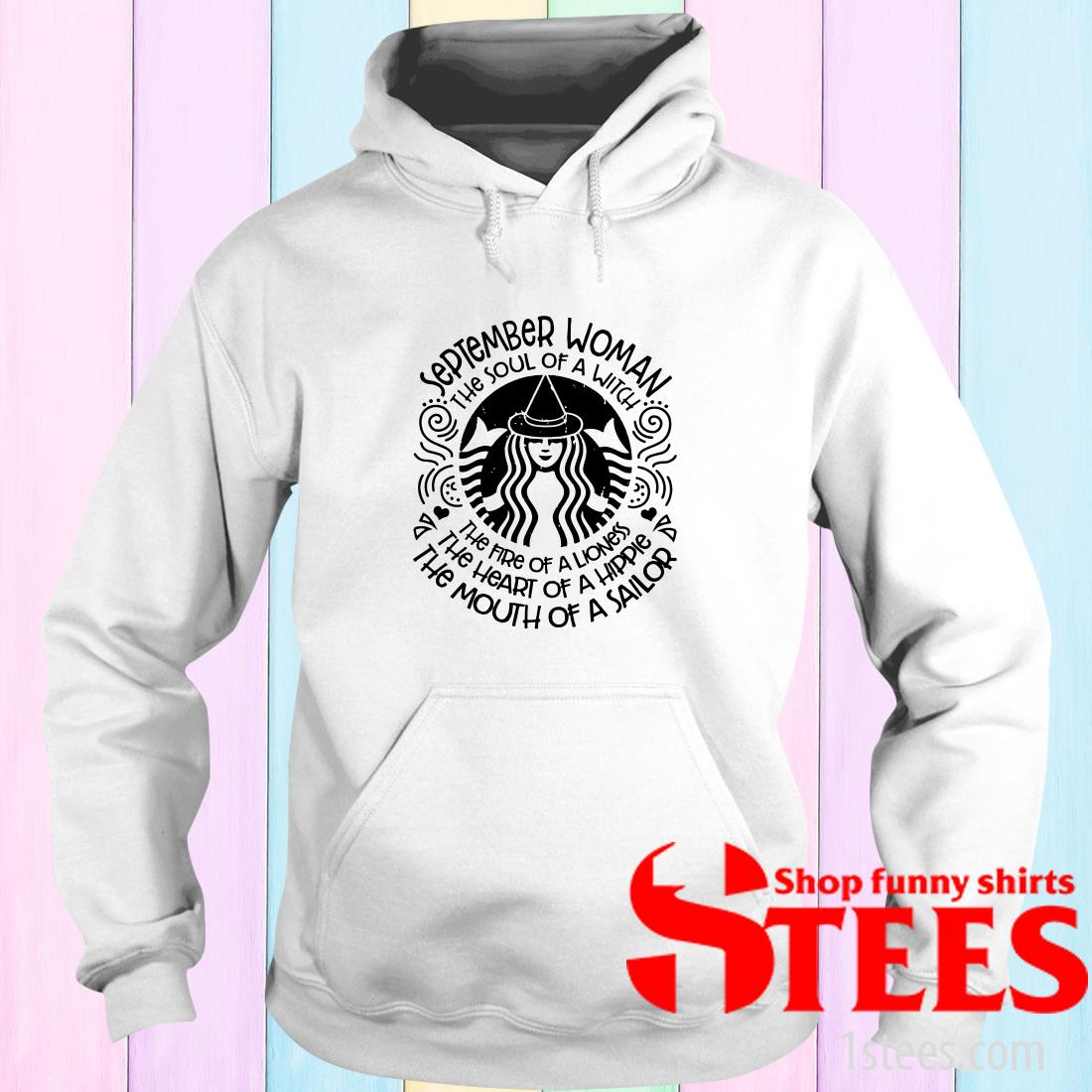September Woman The Soul Of A Witch Hoodies