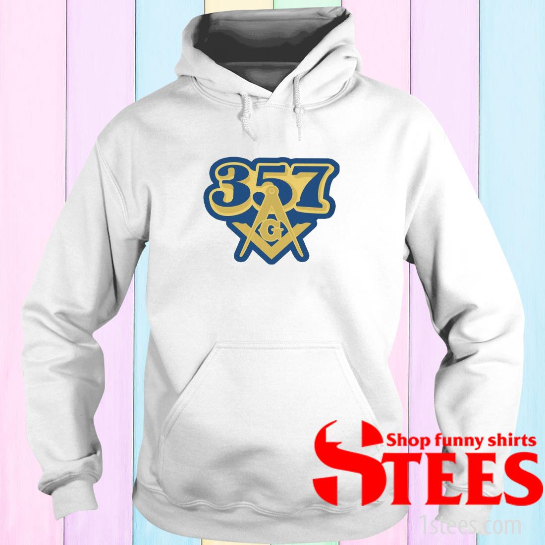 357 Freemasonry Logo Hoodies