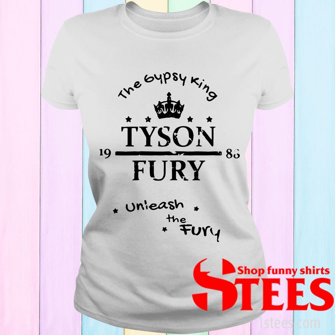 Tyson Fury The Gypsy King Unleash The Fury Women's T-Shirt