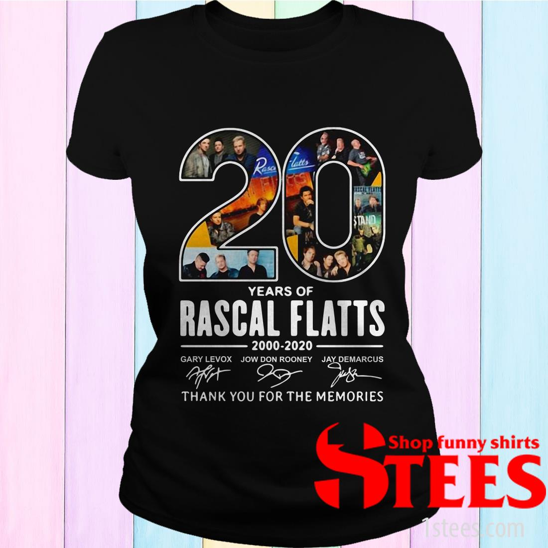 20th Years Of Rascal Flatts Band 2000-2020 Signature Shirt