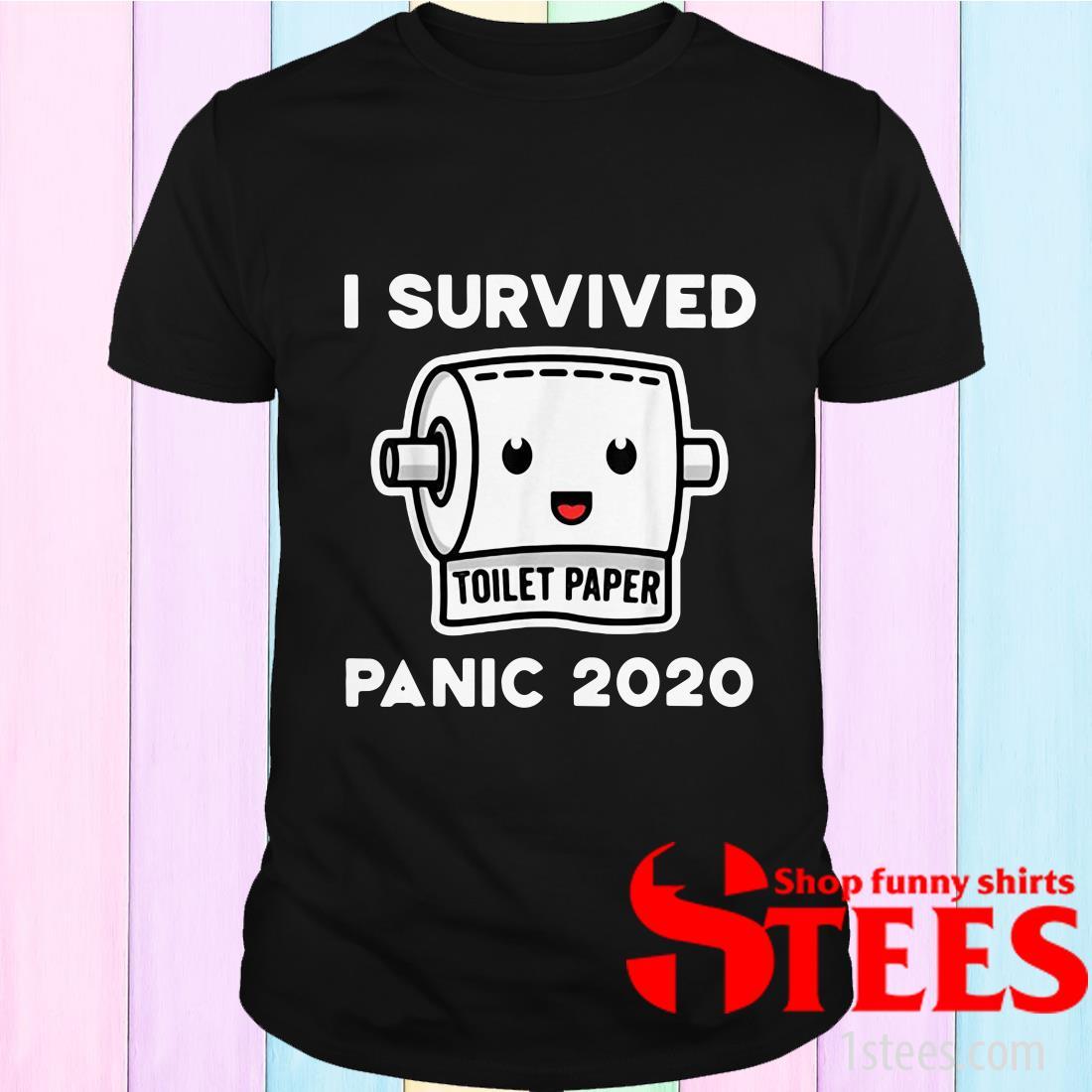 Toilet Paper Shortage Virus Flu Panic 2020 T-Shirt