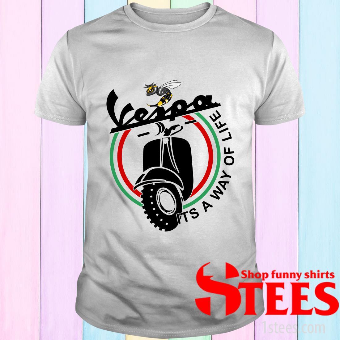 Vespa It's A Way Of Life T-Shirt