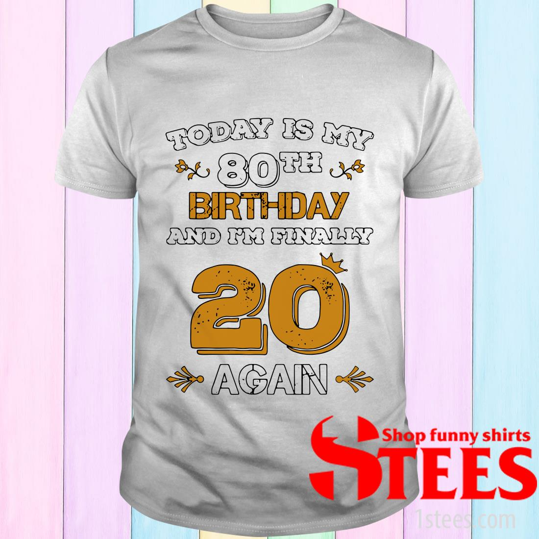 2020 Leap Year Birthday 80 Years Old Leapling T-Shirt