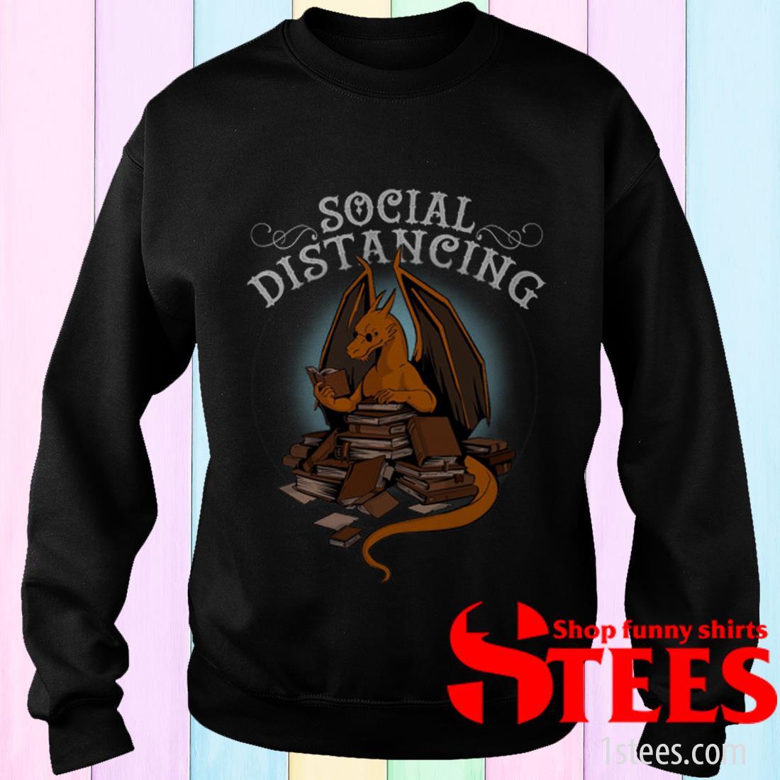Dragon Book Social Distancing Shirt