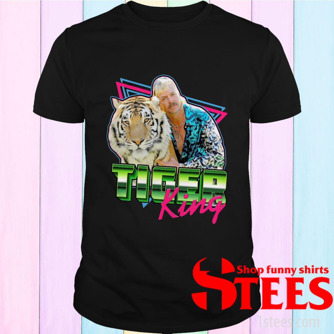 Joe Exotic Tiger King Tee Shirt