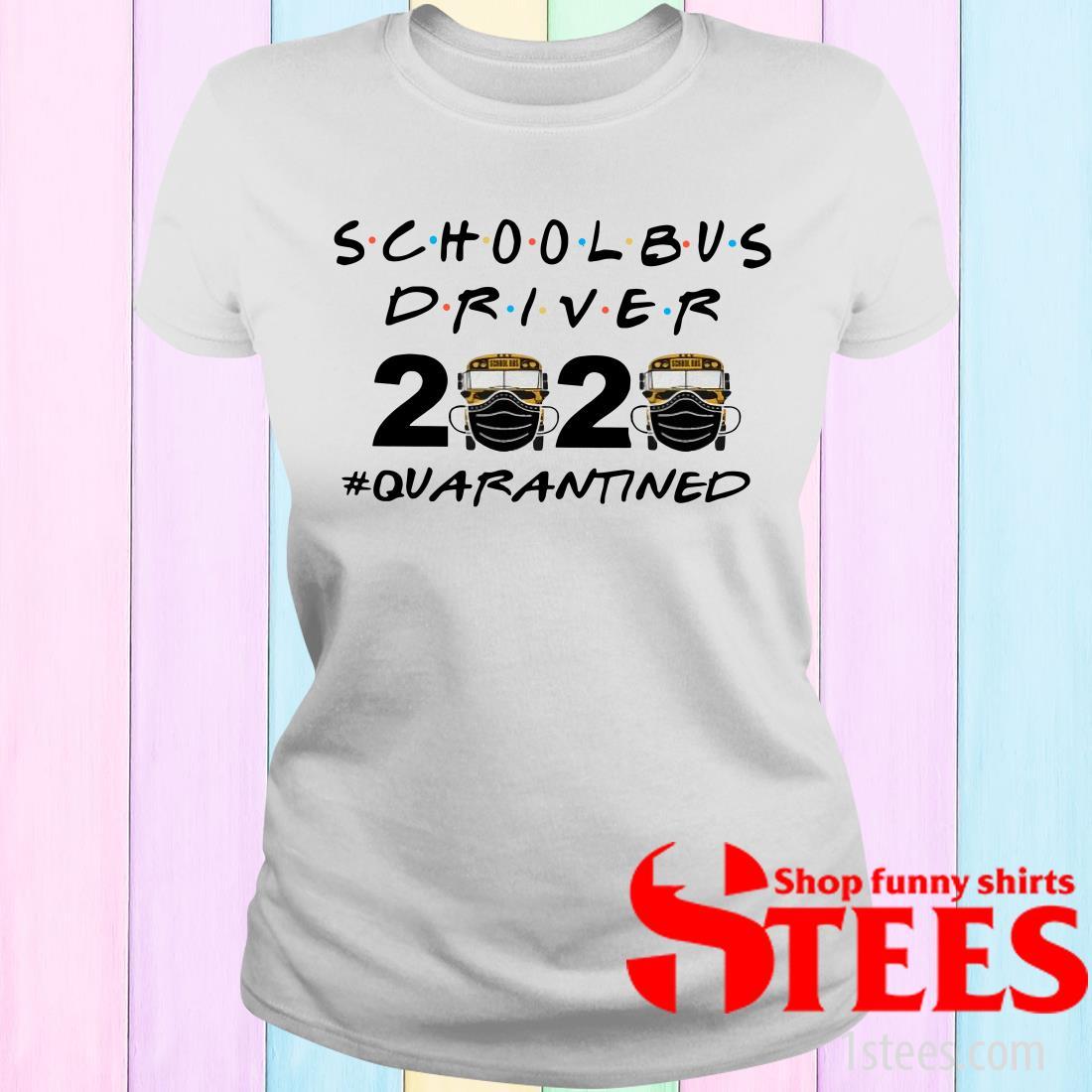 School Bus Driver Quarantined 3 Women's T-Shirt