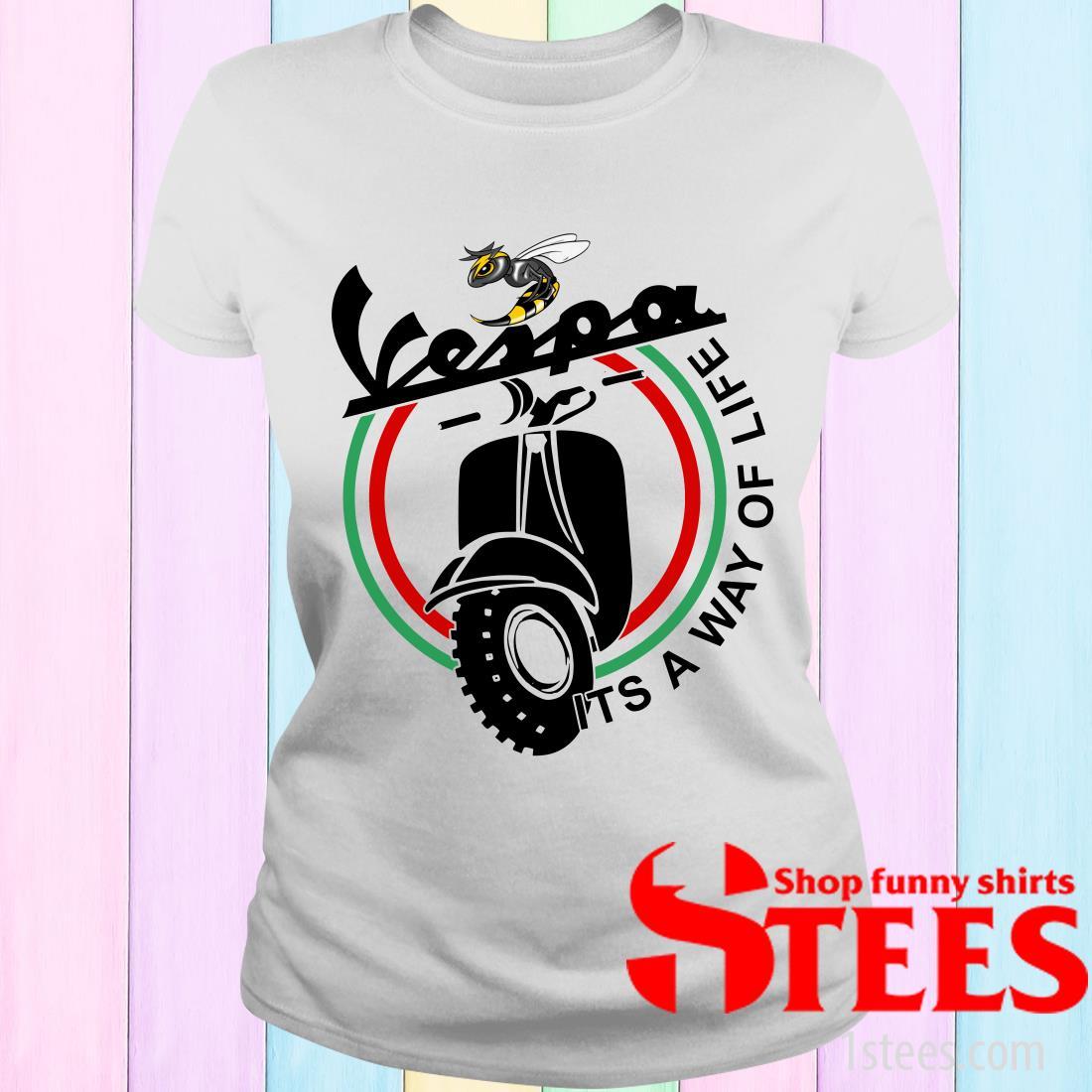 Vespa It's A Way Of Life Women's T-Shirt