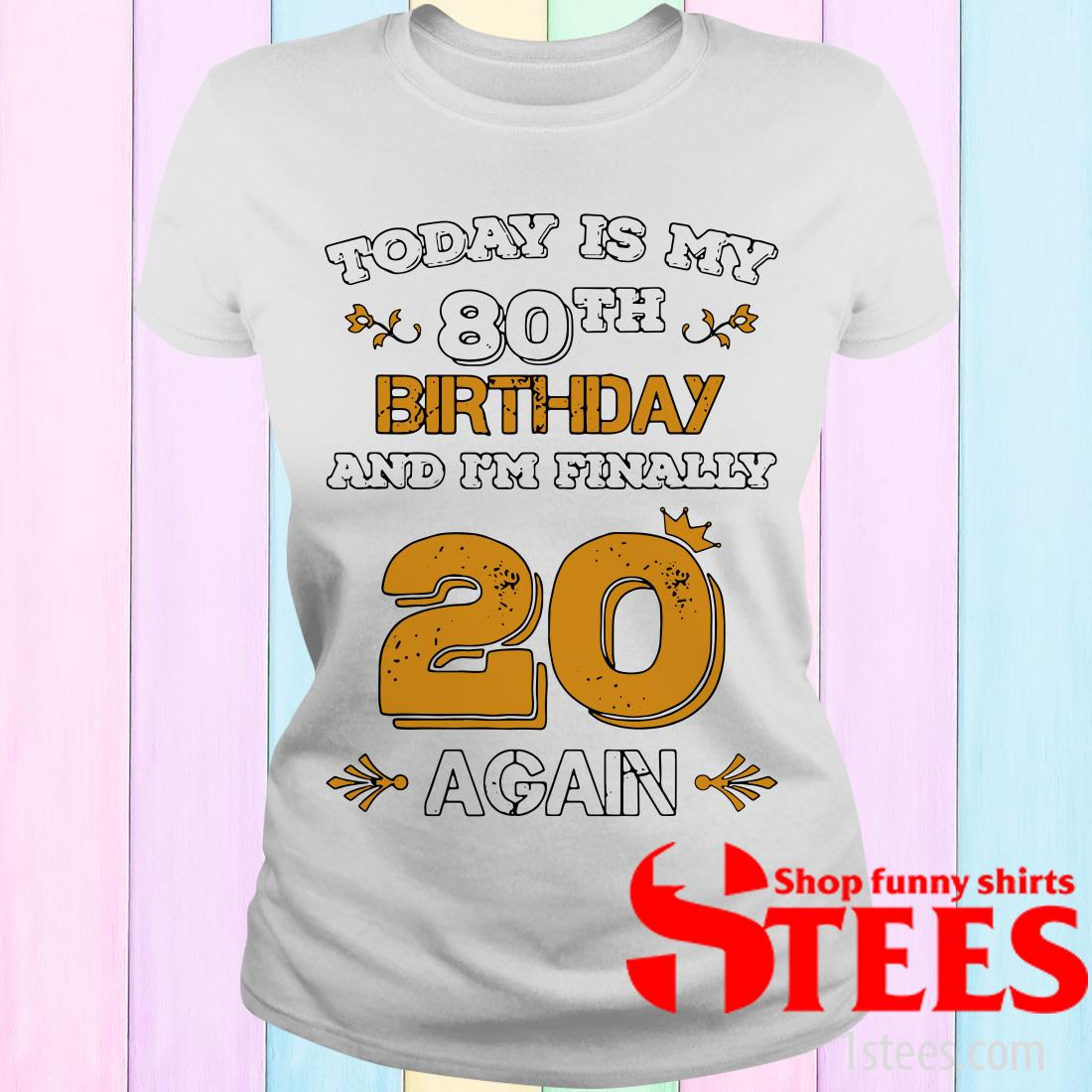 2020 Leap Year Birthday 80 Years Old Leapling Women's T-Shirt
