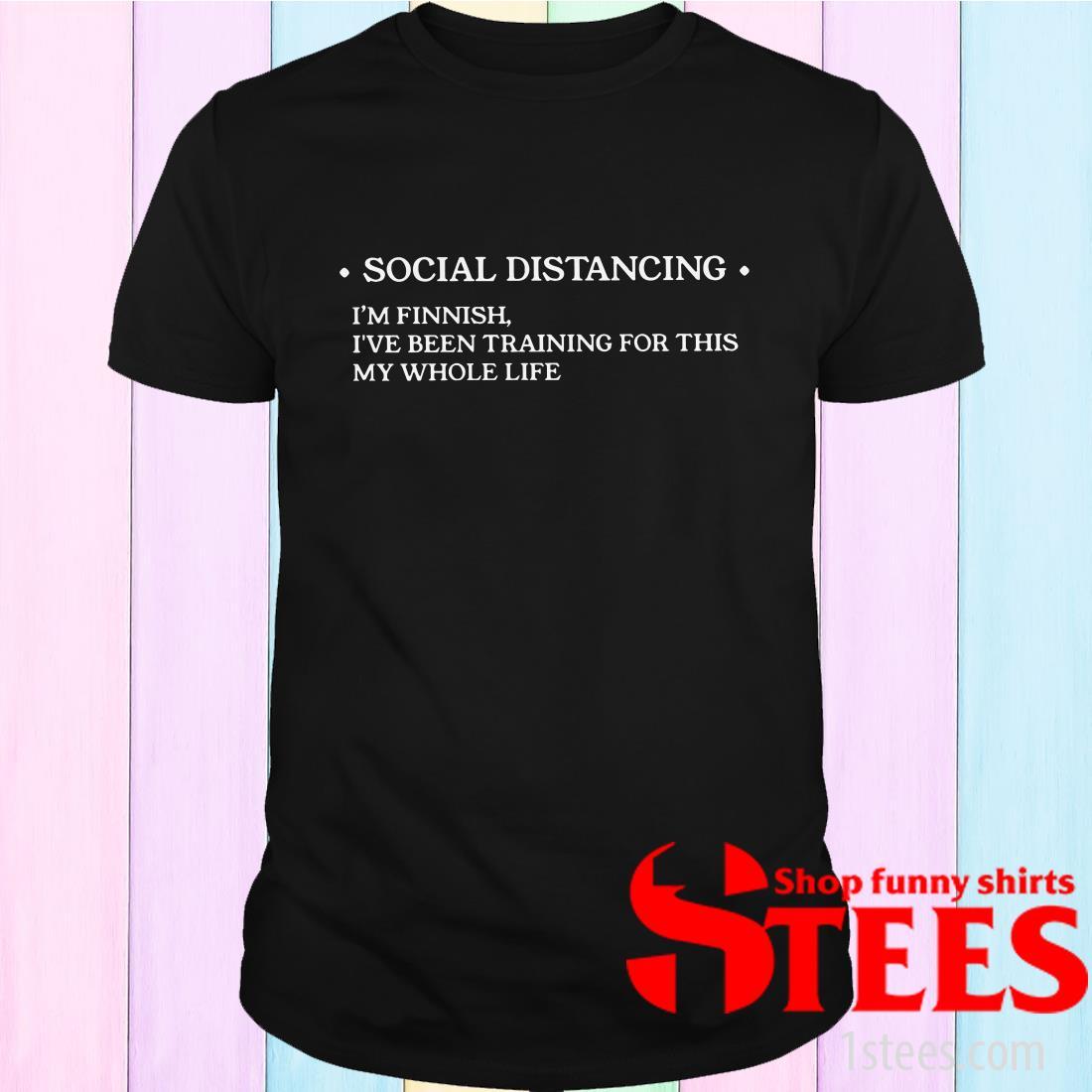 Social Distancing Finn Shirt
