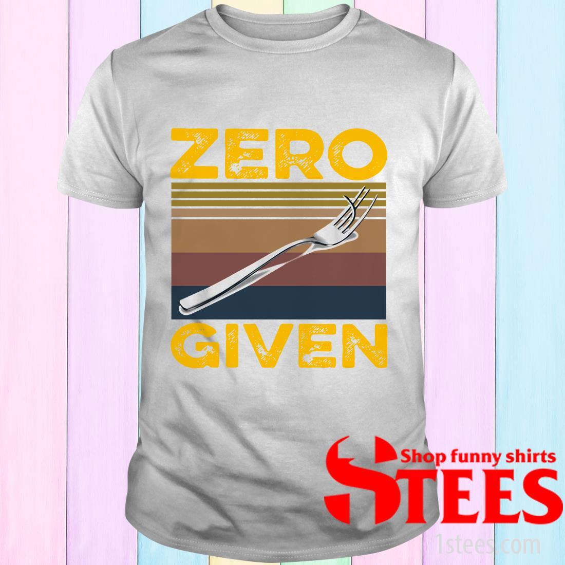 Vintage Zero Give Shirt