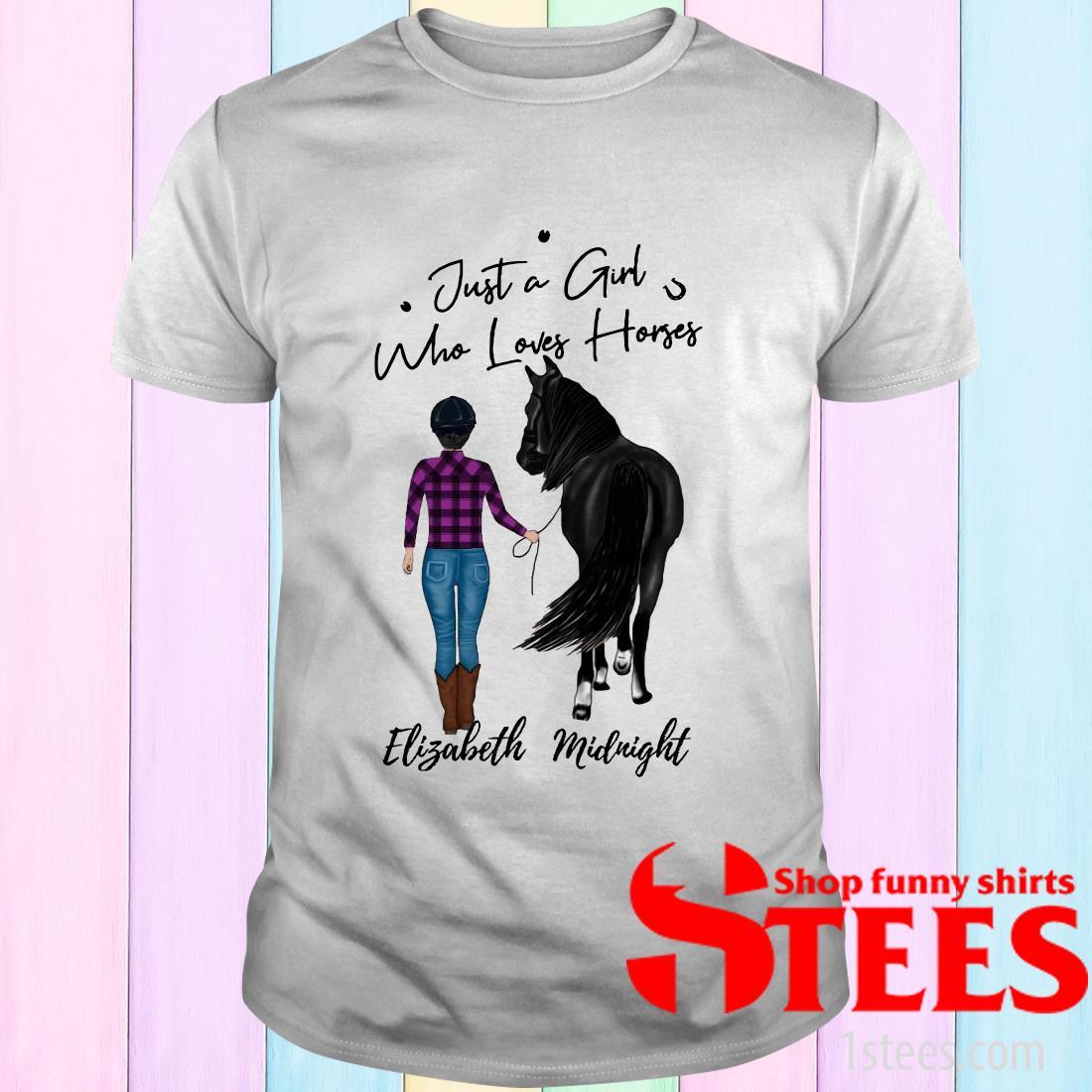 Walking With Horse Customized Shirt