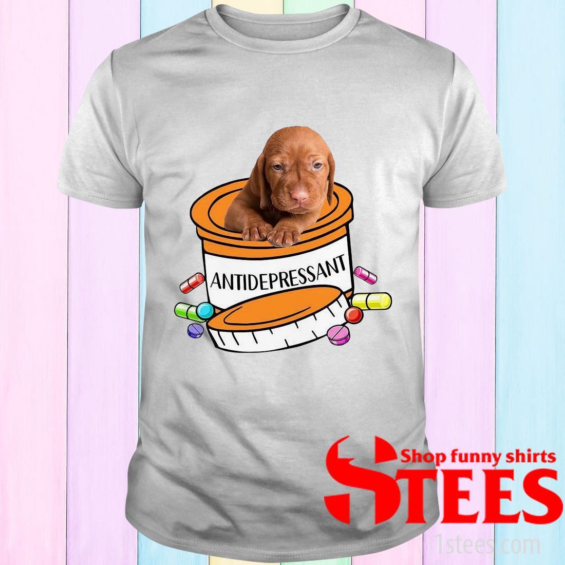 Vizsla Antidepressant T-Shirt