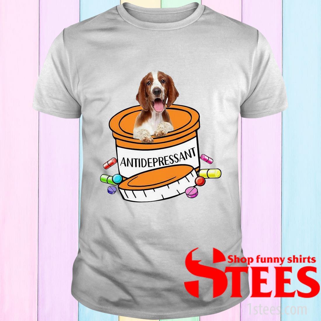 Welsh Springer Spaniel Antidepressant T-Shirt