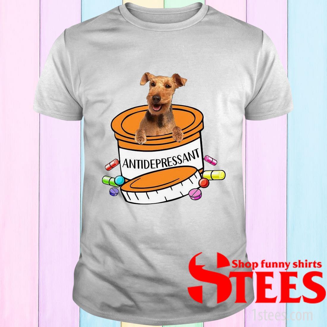 Welsh Terrier Antidepressant T-Shirt