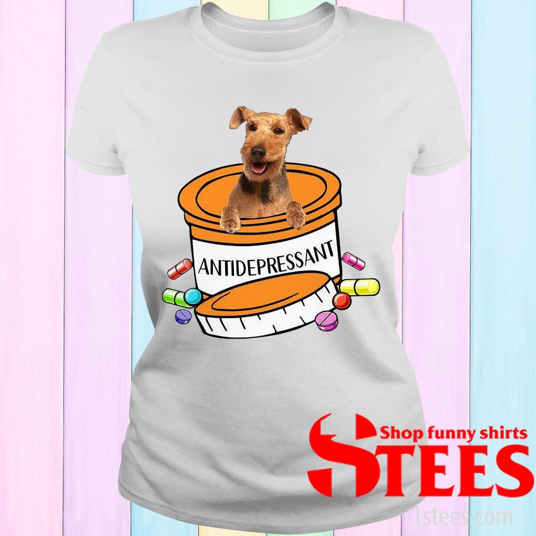 Welsh Terrier Antidepressant Women's T-Shirt