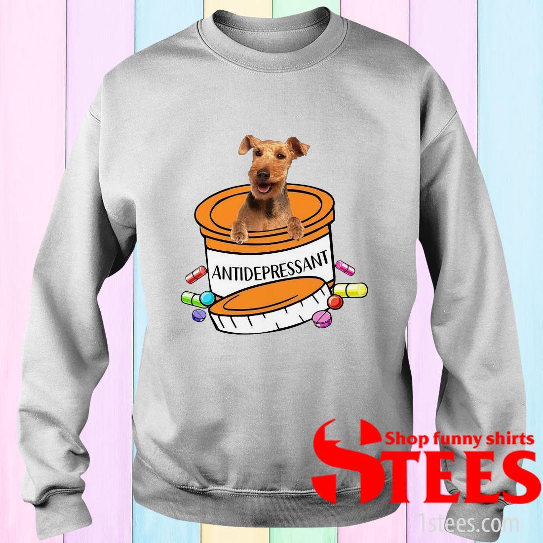Welsh Terrier Antidepressant Sweater
