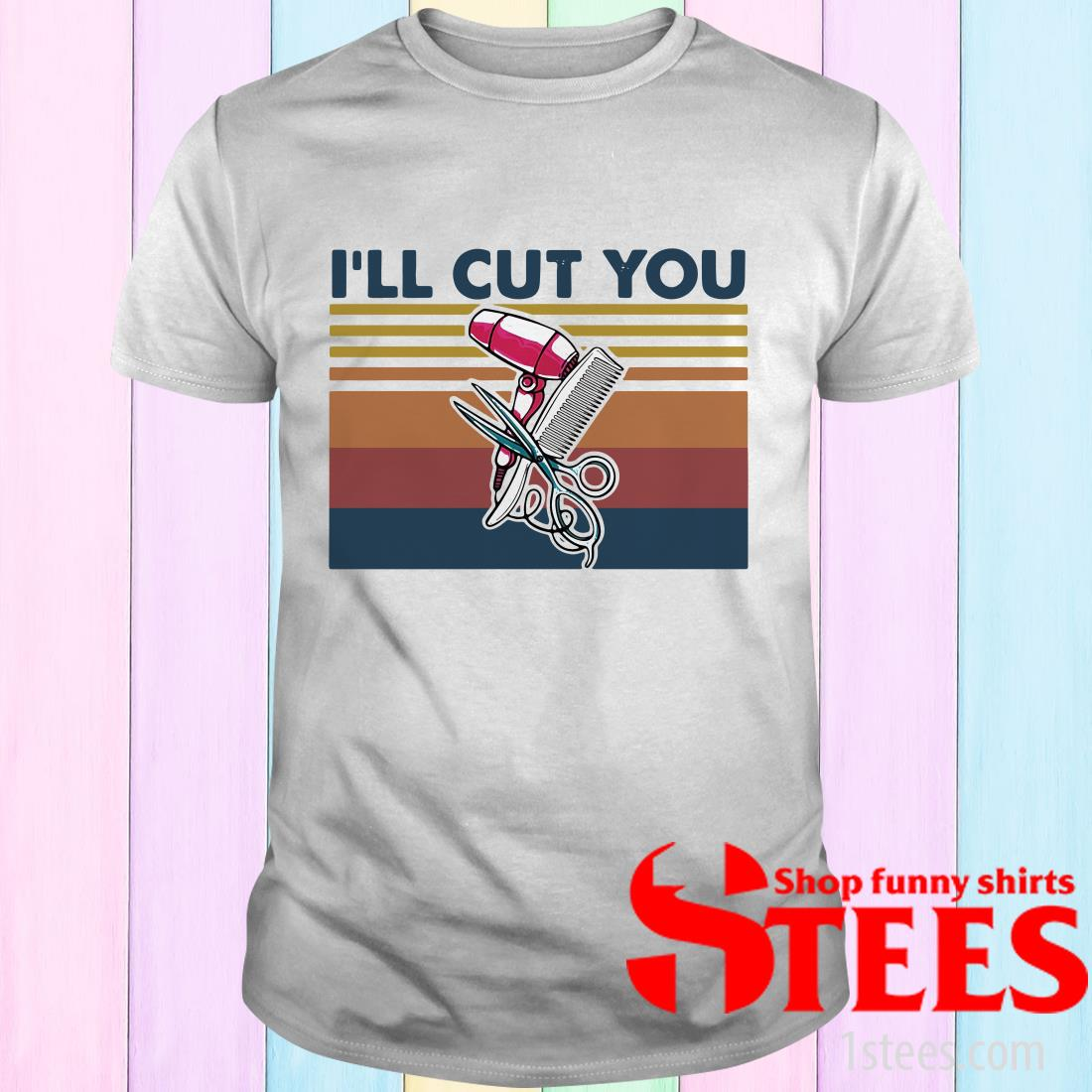 Official Hairstyle I'll Cut You Vintage Shirt, Hoodie