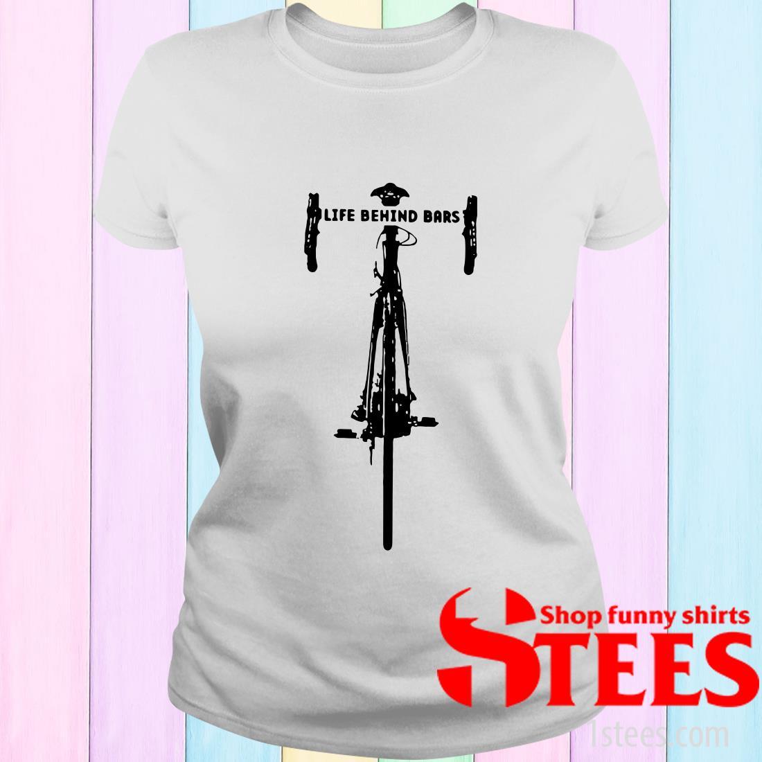 Bicycle Life Behind T-Shirt