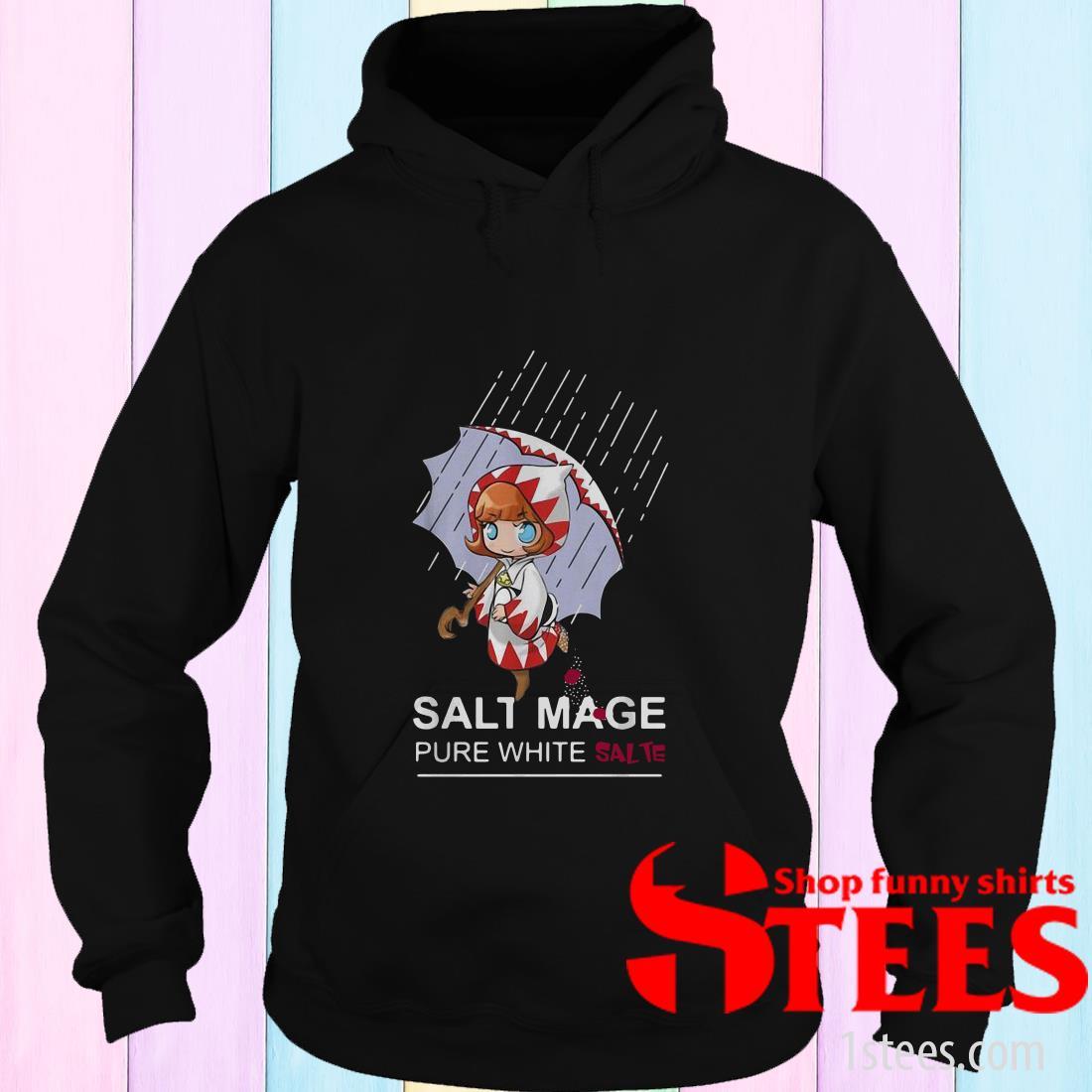 Salt Mage Pure White Salt White Mage Final Fantasy Hoodies