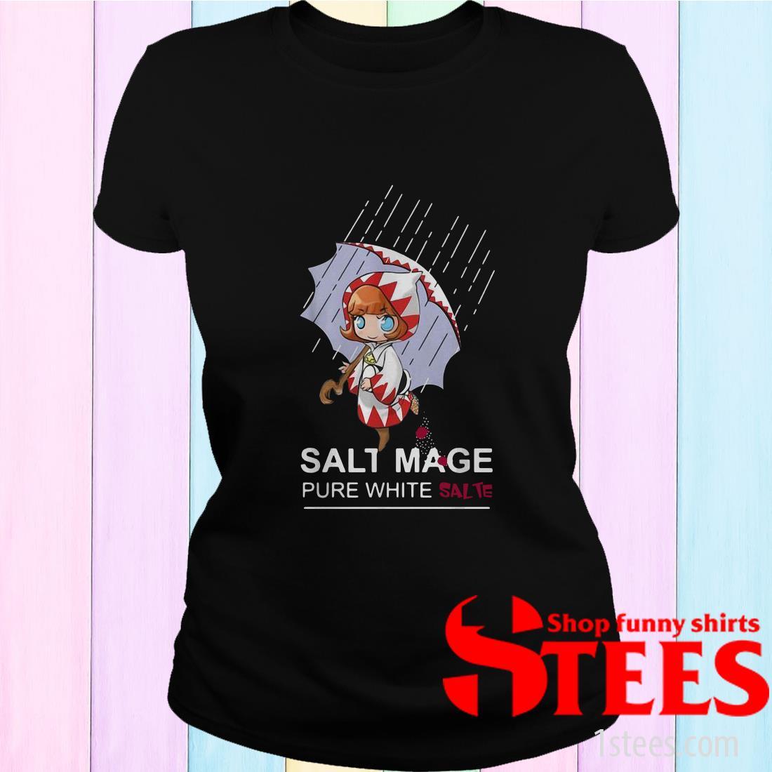 Salt Mage Pure White Salt White Mage Final Fantasy Women's T-Shirt