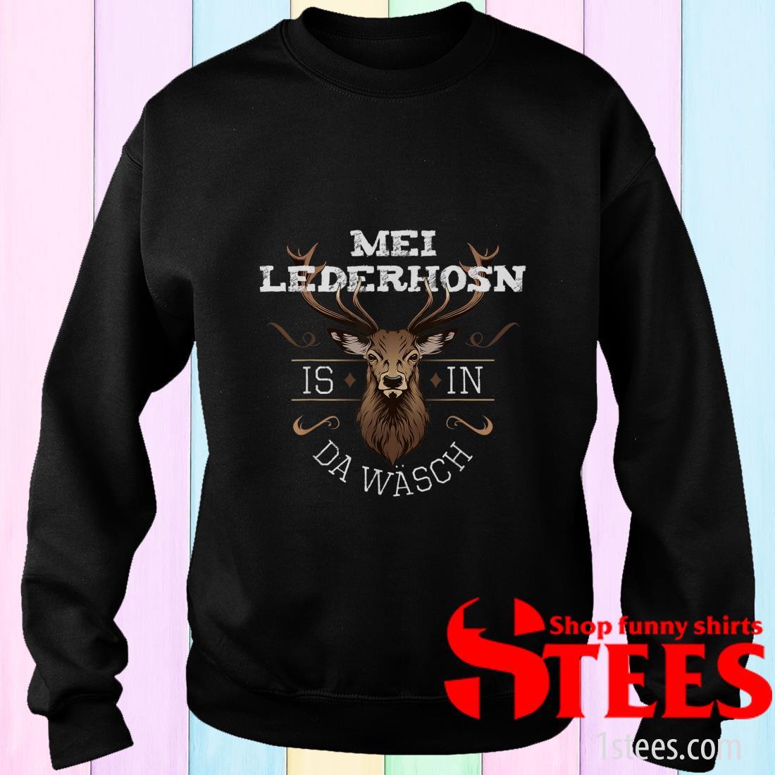 Mei Lederhosen Is In The Wash Sweater