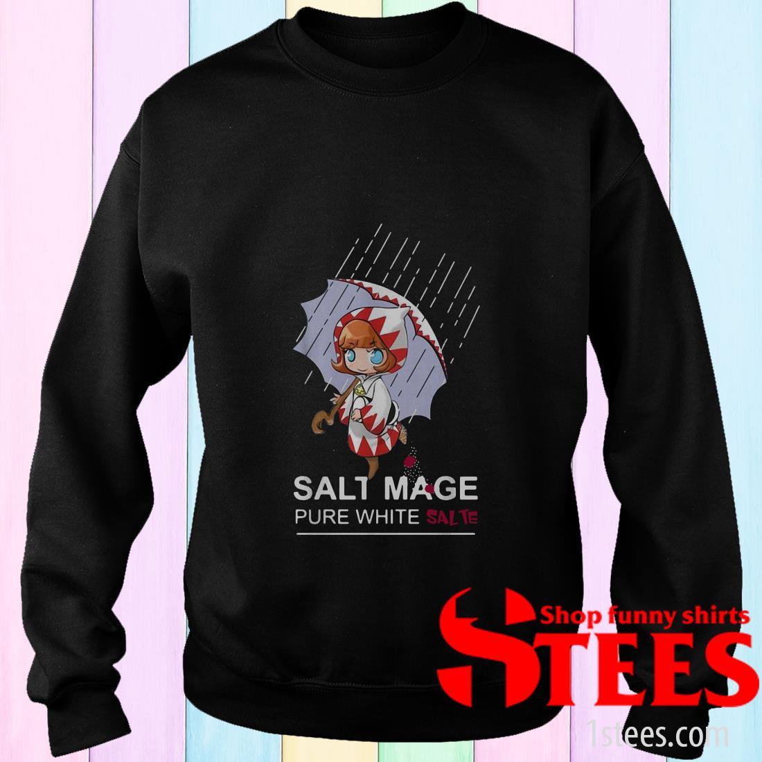 Salt Mage Pure White Salt White Mage Final Fantasy Sweater