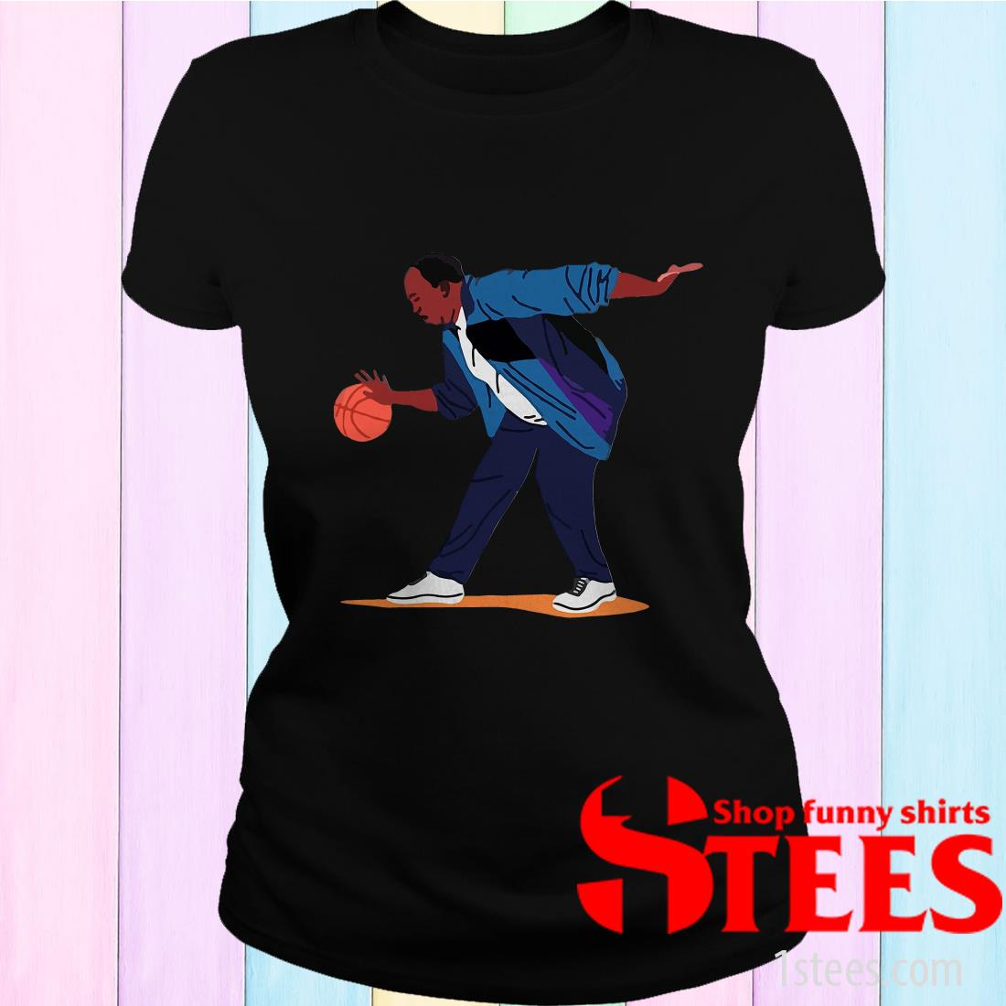 Stanley From The Office Basketball Playing T-Shirt