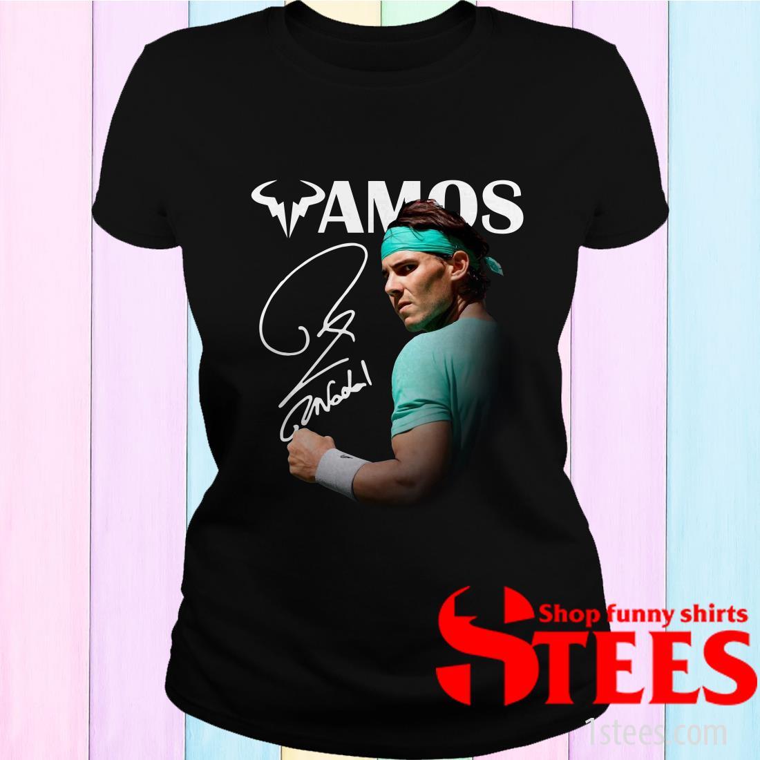 Vamos Rafael Nadal Signature T-Shirt