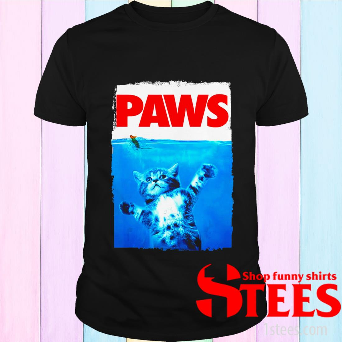 Paws Cat Kitten Meow Paws T-Shirt