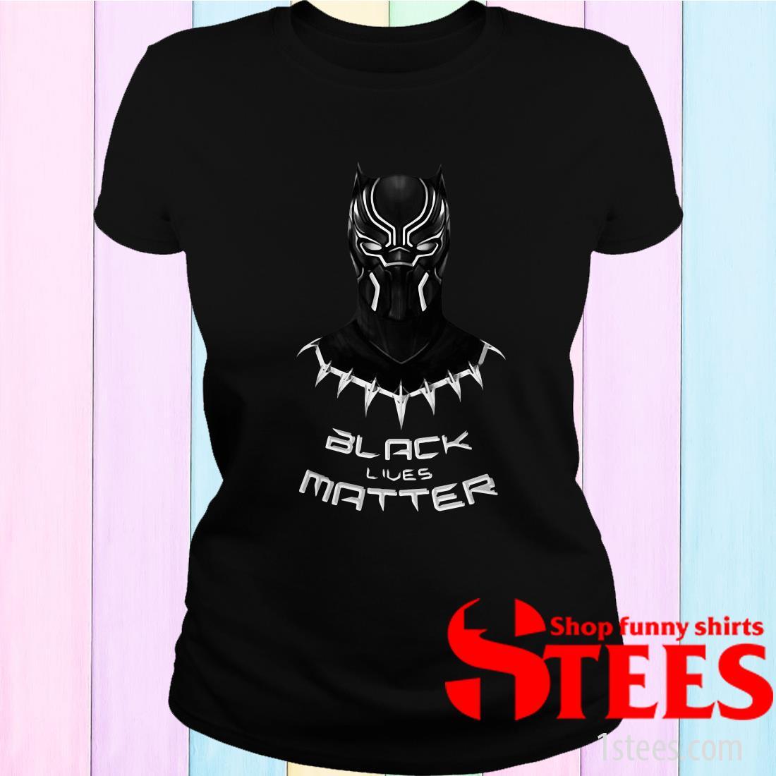 RIP Black Panther Black Lives Matter Chadwick Boseman 1977 2020 Women's T-Shirt