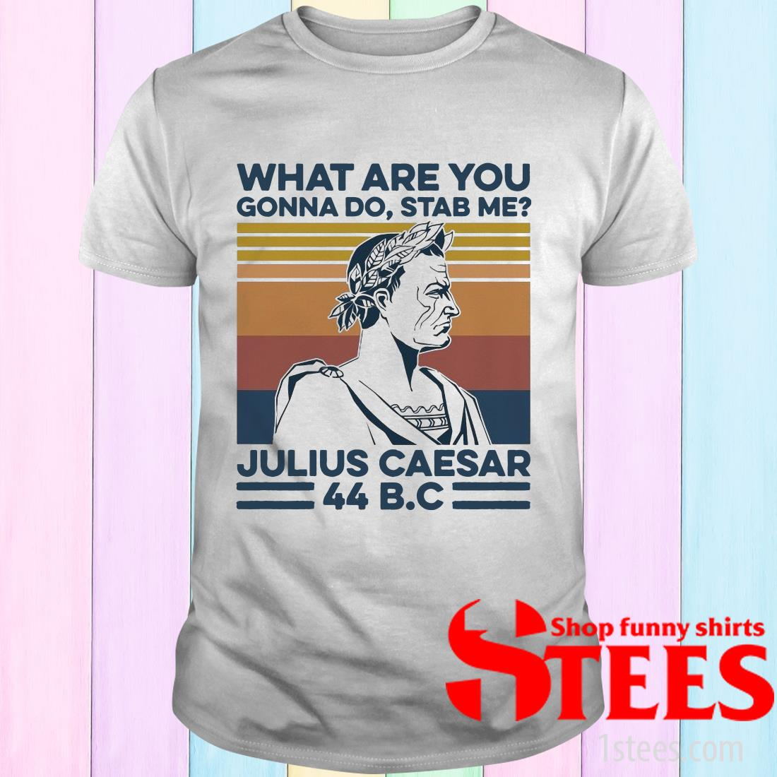 What Are You Gonna Do Stab Me Julius Caesar Vintage T-Shirt