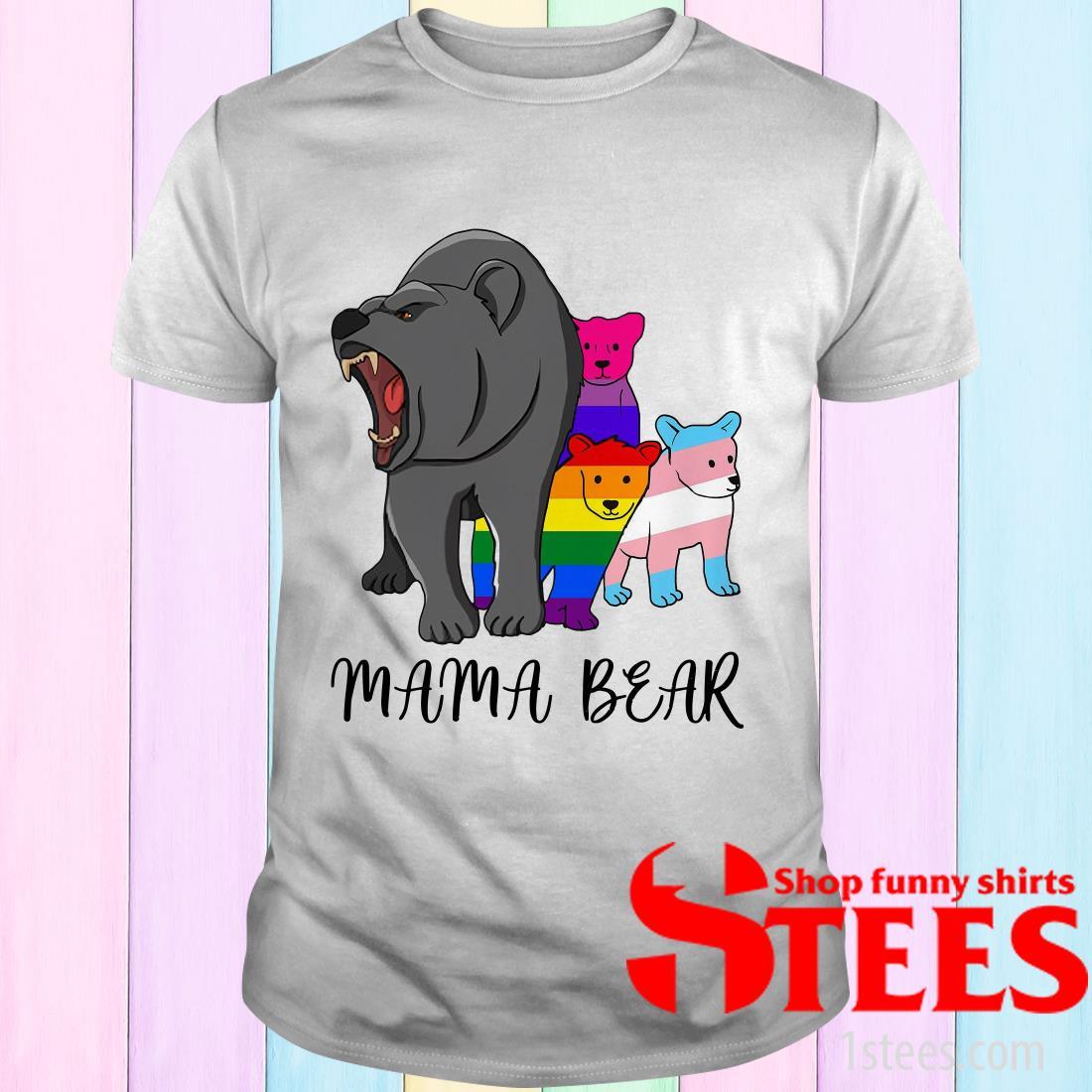 Lgbt Mama Bear T-Shirt