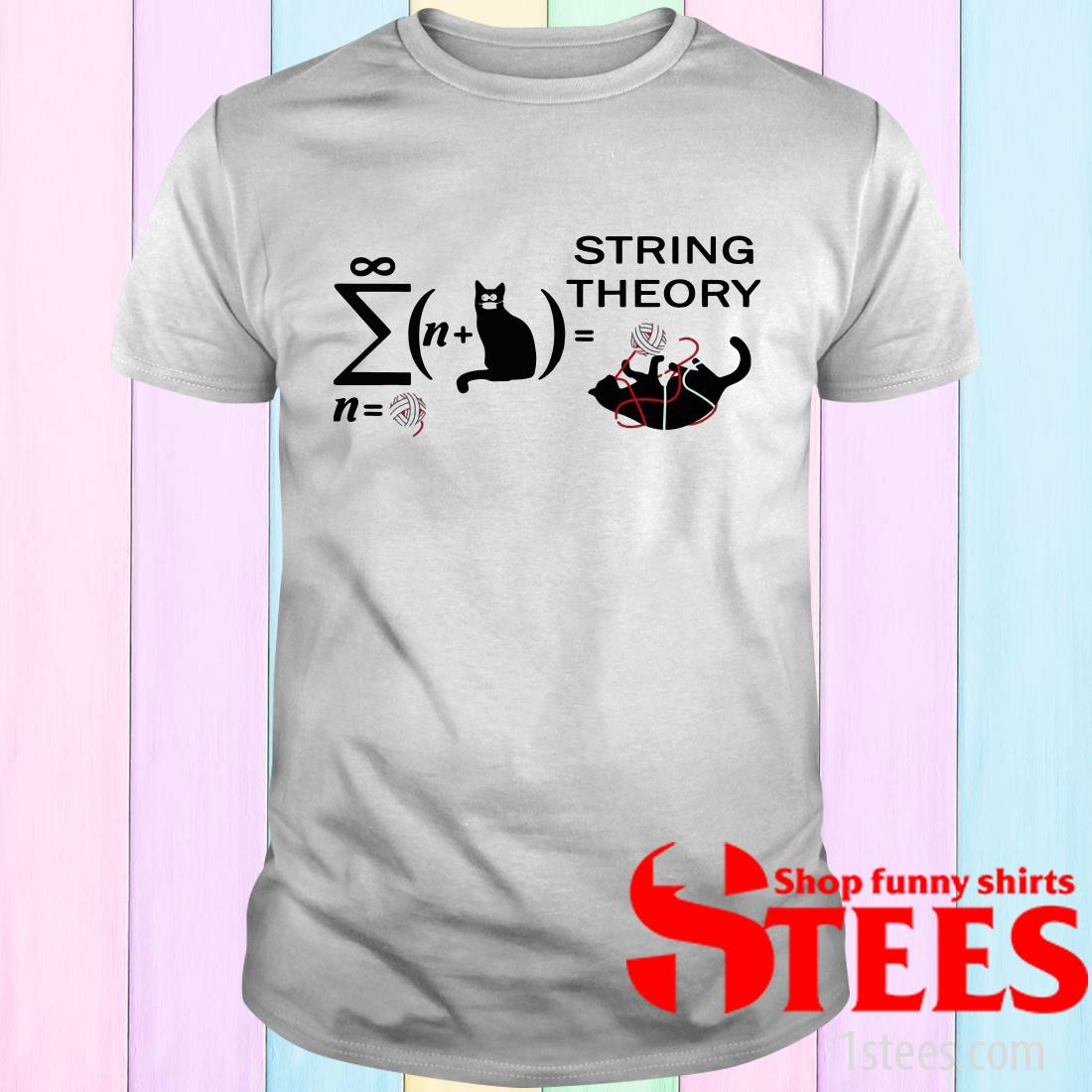 Cats String Theory T-Shirt