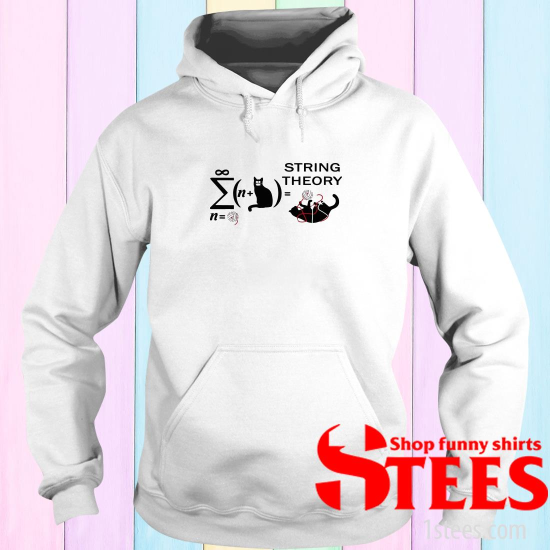 Cats String Theory Hoodies