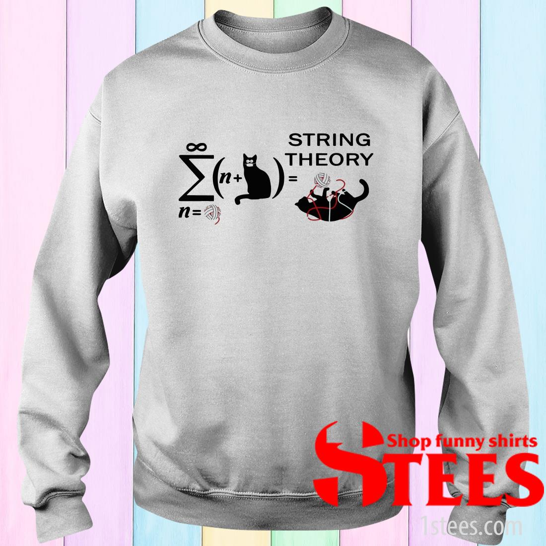 Cats String Theory Sweater