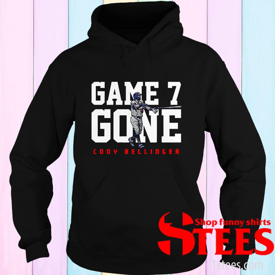 Cody Bellinger Game 7 Gone L.A.T Hoodies
